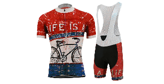 Life is a Beautiful Ride Men's Cycling Kit