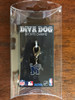 Memphis State Tigers dog collar charm in packaging by diva-dog.com