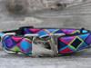 Tanzania dog Collar - by Diva-Dog.com - shown in dark