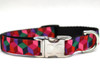 "Block Party Collar - by Diva-Dog.com - Shown in ""Dark""- by Diva-Dog.com"