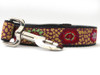 Kaleidoscope dog leash - by Diva-Dog.com