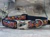 Ibiza Gumdrop Dog Collar - by Diva-Dog.com shown in the dark color palette