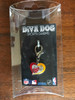 The Miami Heat Swirl Heart dog collar Charm - by Diva-Dog.com