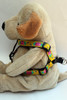 Spanish Rose step-in Harness - by Diva-Dog.com  - Side View