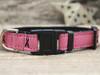 Breast Cancer Awareness cat collar by Diva-Dog.com