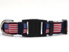 Stars n Stripes cat collar with FREE charm - by Diva-Dog.com