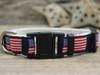 Stars n Stripes cat collar by Diva-Dog.com