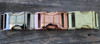 Choose from Silver, Rose Gold, or Gold buckles. By www.diva-dog.com