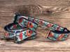 California Poppy Dog Collar and Leash - by Diva-Dog.com