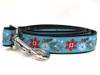 Winterberry dog leash by www.diva-dog.com