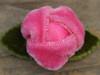 Prom Date rosebud flower for dog collars by www.diva-dog.com