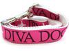 Monogram dog leash - by Diva-Dog.com