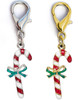 Candy Cane dog collar charm by www.diva-dog.com