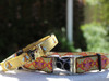 Honey Bee dog collar with Queen Bee dog collar by www.diva-dog.com