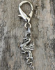 Pewter Dragon dog collar charm by www.diva-dog.com