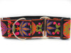 Venice Ink martingale dog collar by www.diva-dog.com