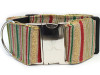 Northern Lights extra wide dog collar by www.diva-dog.com