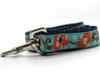 California Poppies dog leash - by Diva-Dog.com