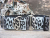 Midnight Leopard martingale dog collar by www.diva-dog.com
