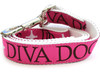 Monogram dog leash - by Diva-Dog.com