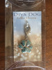 Blue Crystal Pave Paw Charm - by Diva-Dog.com