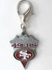 San Francisco 49'ers Charm - by Diva-Dog.com