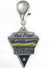 San Diego Chargers Charm - by Diva-Dog.com