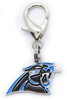 Carolina Panthers dog collar Charm - by Diva-Dog.coms