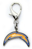 Los Angeles Chargers dog collar Charm - by Diva-Dog.com