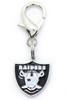 Oakland Raiders Logo Dog Collar Charm - by Diva-Dog.com