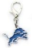 Detroit Lions Dog Collar Charm - by Diva-Dog.com