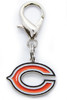 Chicago Bears dog collar Charm - by Diva-Dog.com
