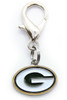 Green Bay Packers Logo Charm - by Diva-Dog.com