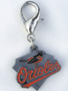Baltiore Orioles Charm - by Diva-Dog.com