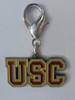 USC Trojans Collar Charm - by Diva-Dog.com