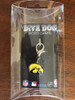 University of Iowa Hawkeyes Collar Charm in packaging - by Diva-Dog.com