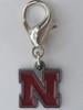 University of Nebraska Cornhuskers Collar Charm - by Diva-Dog.com