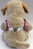 Monogram Step-In Harness - by Diva-Dog.com  rear view
