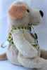 Harlequin Green Step-In Harness - by Diva-Dog.com  - Side View
