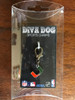 University of Miami Hurricanes collar Charm in packaging - by Diva-Dog.com