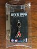 Arizona Diamondbacks Logo collar Charm - by Diva-Dog.com