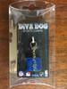 Duke University Blue Devils dog collar charm in packaging by diva-dog.com
