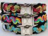 Waves dog collars - by Diva-Dog.com