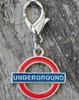 London Underground Dog Collar Charm - by Diva-Dog.com