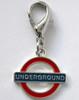 London Underground Collar Charm - by Diva-Dog.com