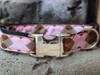 Argyle dog collar by www.diva-dog.com