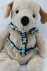 Coco Blue Harness - by Diva-Dog.com  - front view