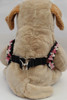 Coco Pink Harness - by Diva-Dog.com  - rear view