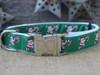 Candy Cane Santa dog collar - by Diva-Dog.com