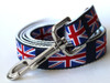 London Calling dog leash- by Diva-Dog.com